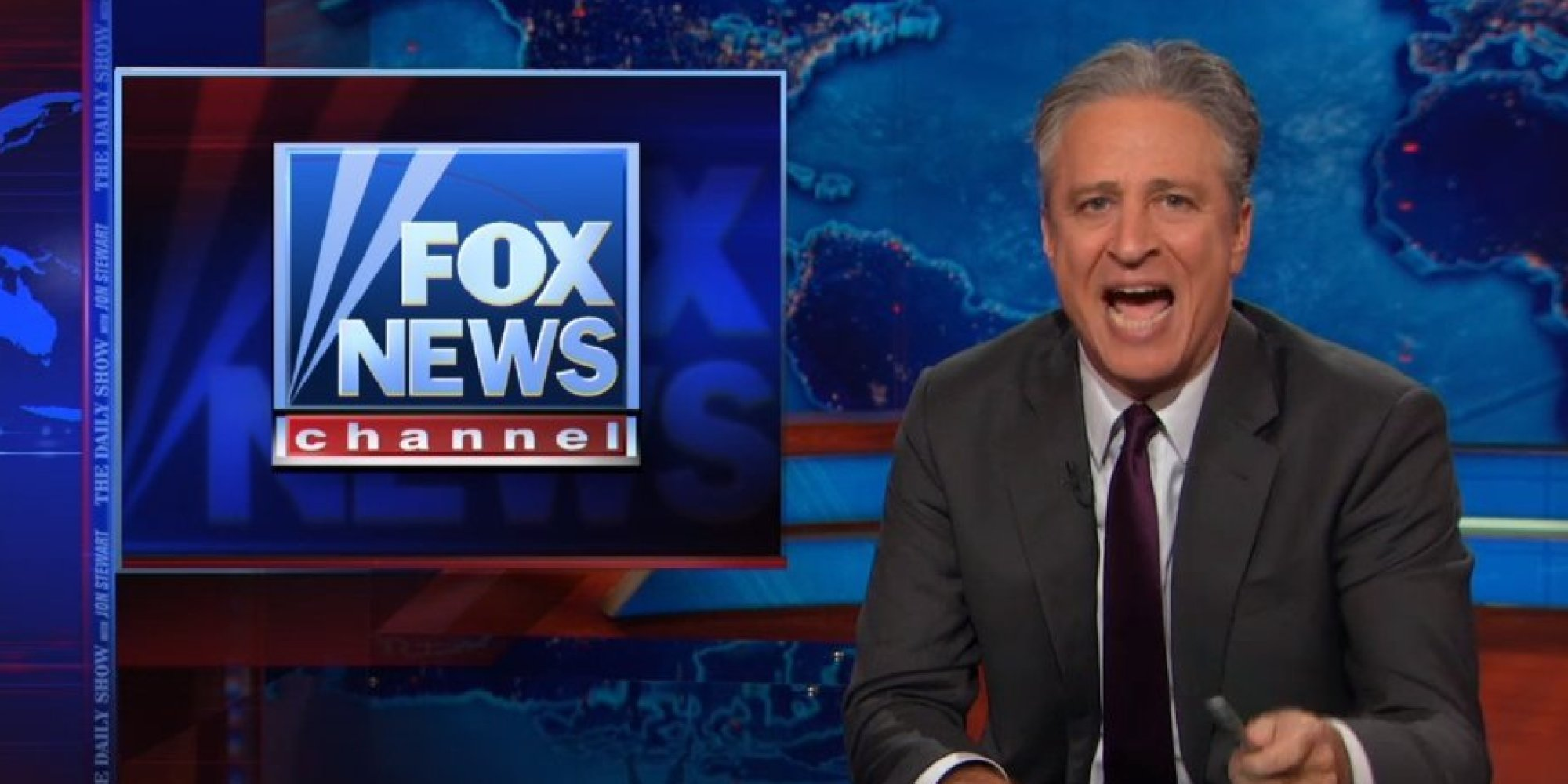 News: Jon Stewart Tells Fox News: 'Fuck You And All Your False