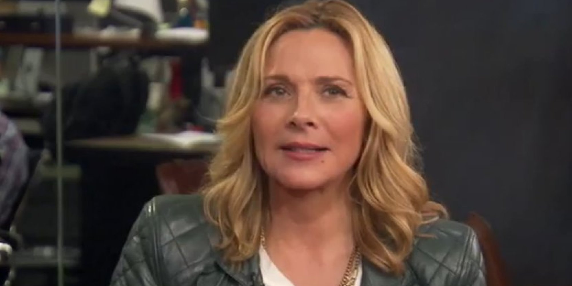 Kim Cattrall's First Brush With Menopause Was As Samantha On 'Sex ...