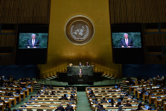 stephen harper united nations 2014