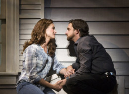 PERFORMANCE SPOTLIGHT: Raul Esparza and Brooke Shields in 'Leap Of Faith' at the Ahmanson Theater