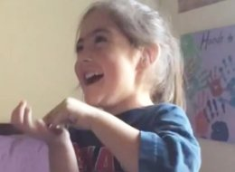 Little Girl Tries Pop Rocks For First Time And Cracks Up