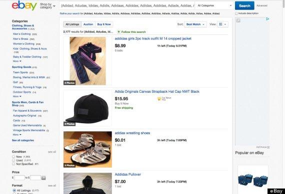 ebay results