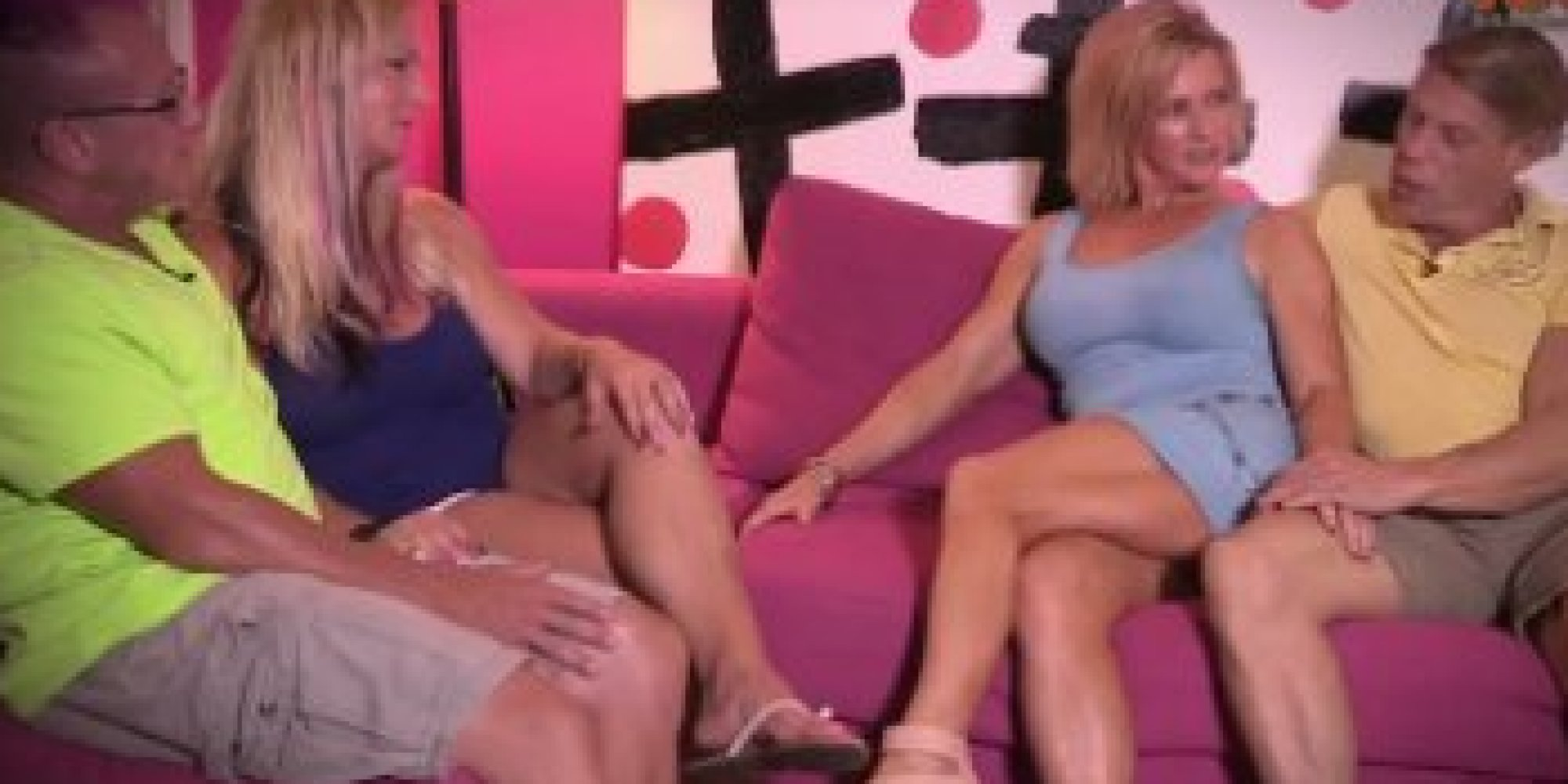 Sexy naked swapping couples watched this
