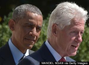 bill clinton obama