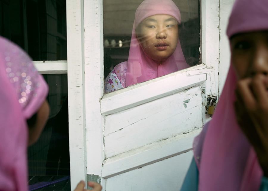 China muslim girl photo