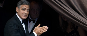 GEORGE CLOONEY WEDDING