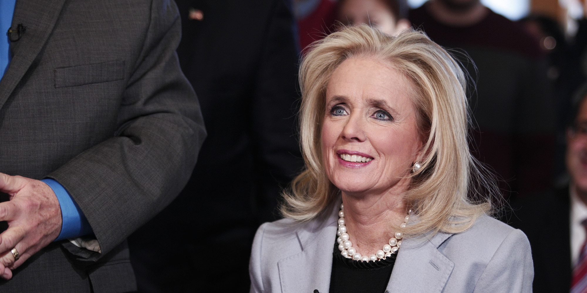 Image result for photo of rep debbie dingell and robert siegel