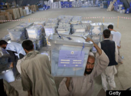 Afghan Election Ballots
