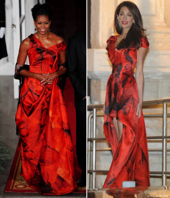 amal alamuddin michelle obama