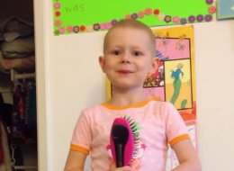 5-Year-Old Gives Pep Talk About Fighting Cancer To Help Other Kids Feel Brave
