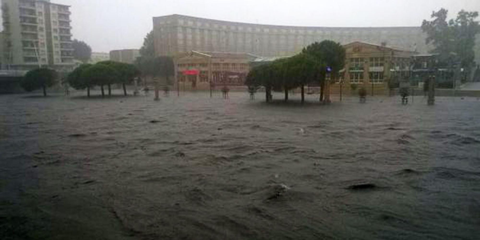 M t o inondations et d clenchement de l 39 alerte rouge dans le sud de la france - Meteo agricole montpellier ...