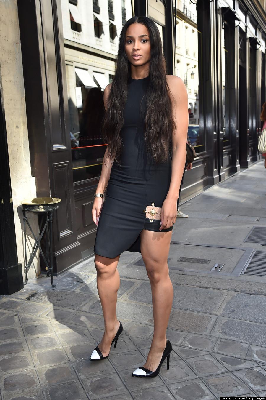 Ciara Had A Really Stylish Paris Fashion Week