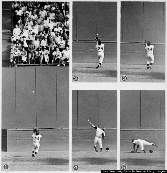 willie mays 1954 world series