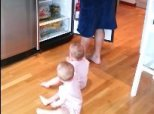 The Challenge Of Making Breakfast For Twin Toddlers, In One Hilarious Video