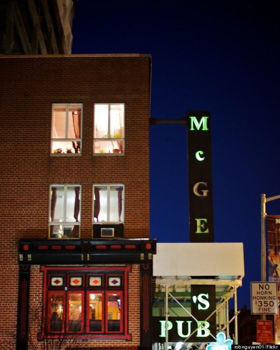 mcgees pub new york
