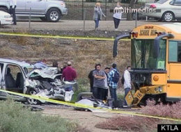 School Bus Crash Riverside