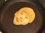 Dad Draws The Beatles With <br>Pancake Batter