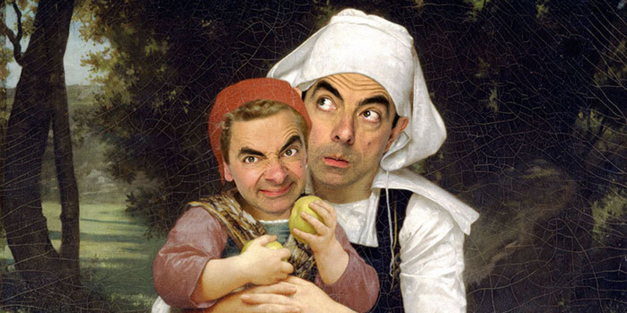 Mr. Bean Infiltrates Art History In Hilarious Photo Series