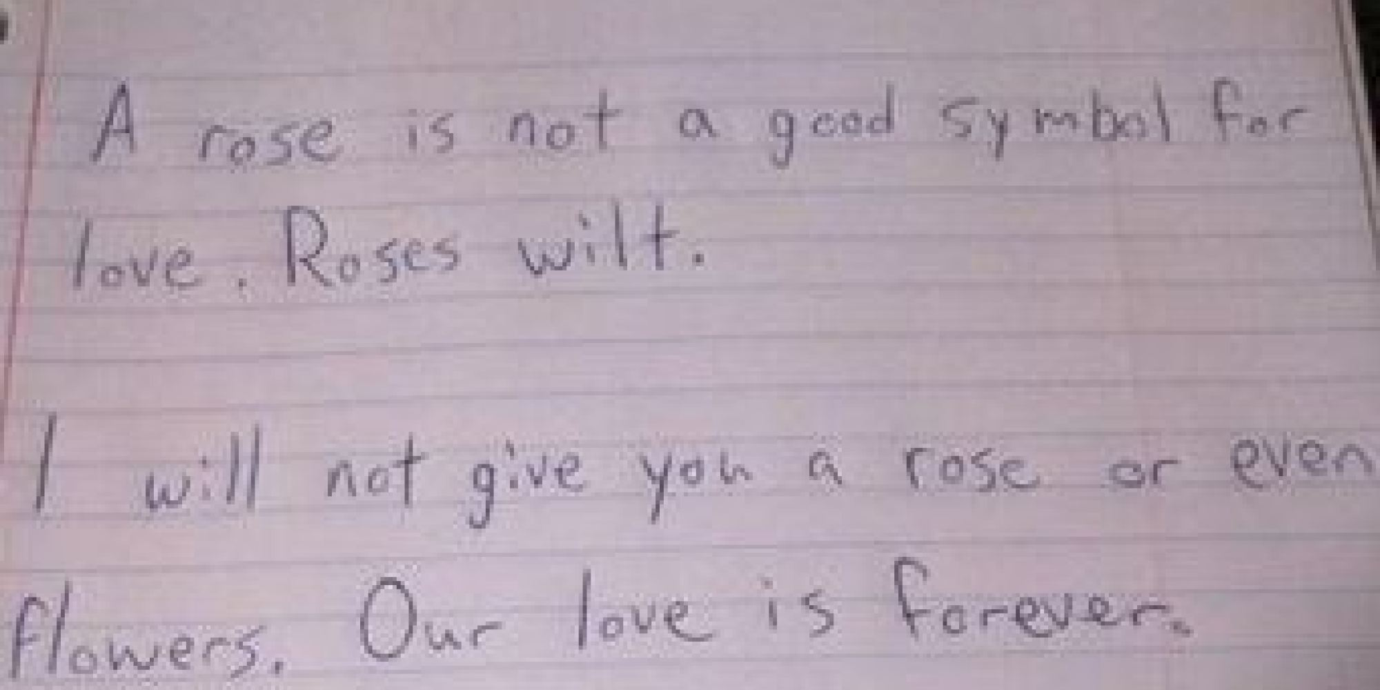 How to write a funny love letter