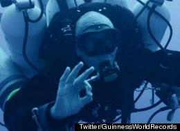 Man Breaks World Record For Deepest Scuba Dive