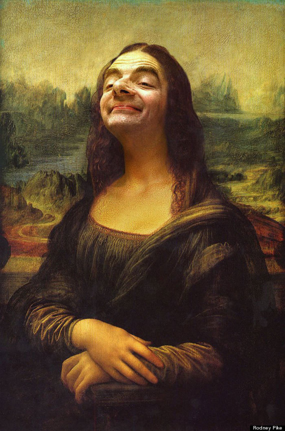 Mr Bean Infiltrates Art History In Hilarious Photo Series