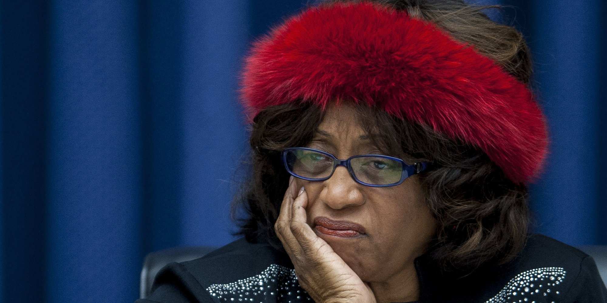 Image result for corrine brown barack obama