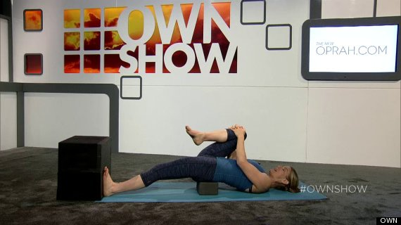 jill miller yoga hip stretch