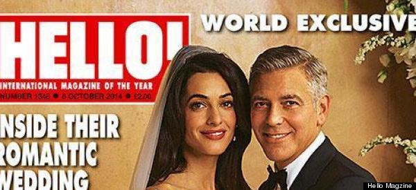 First Look! George And Amal's Official Wedding Photos