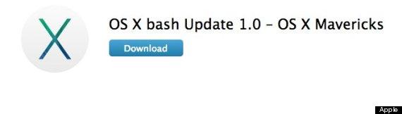 apple bash update