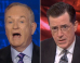 Bill O'Reilly Is Just So Mad At Stephen Colbert These Days