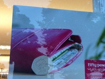 Sainsbury's poster