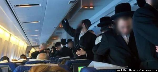 Ultra-Orthodox Jewish Men Cause Flight Delay By Refusing To Sit Next To Women