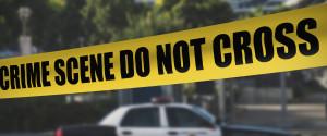 CRIME SCENE POLICE CAR