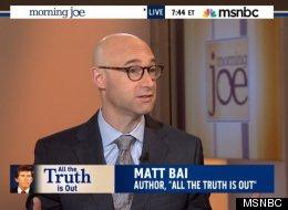 Matt Bai: Gary Hart Media Frenzy Had 'Profound Reverberations On Our Politics'