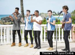 'X Factor' Boyband Downplay Harry Styles Link