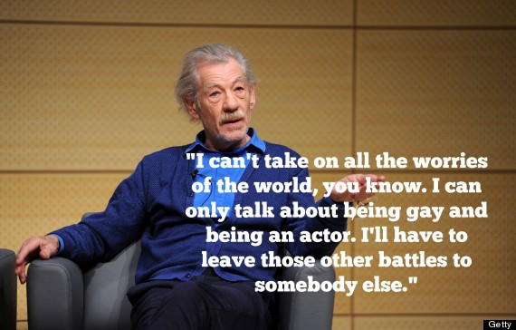 Ian Mckellen Quotes That Will Help You Embrace Your True Self Huffpost