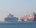 Two Container Ships Collide In The Suez Canal