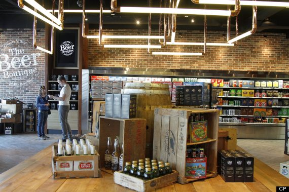 liberty village beer store