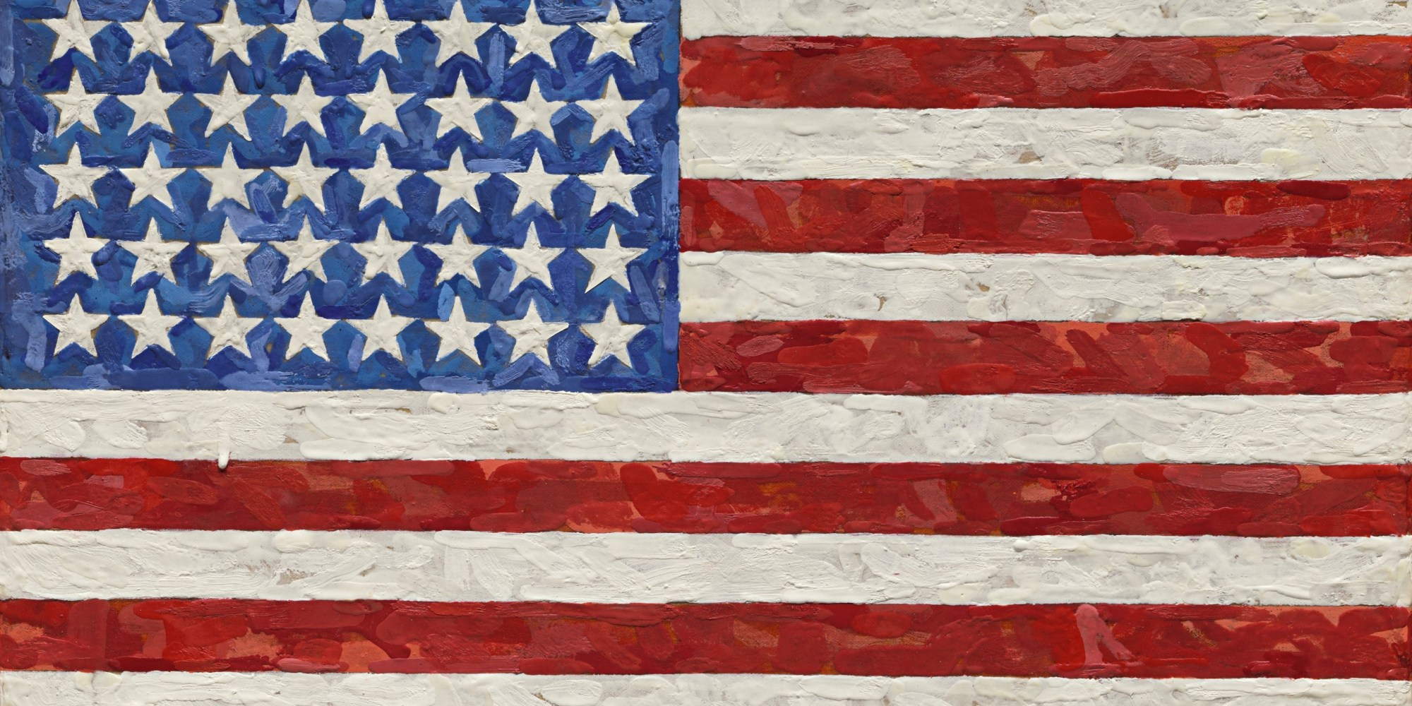 The Art World's Iconic Flag Is Expected To Sell For $20 Million