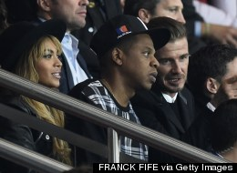 Beckham And Pals Take In PSG-Barça