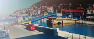 CROATIA BRIDGE TISNO CAR
