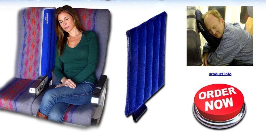 ez sleep travel pillow