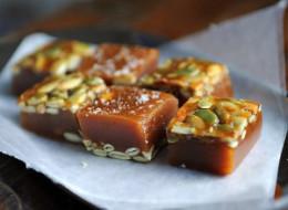Food52's Best Halloween Treats: Salted Pumpkin Caramels & Tipsy Maple Corn