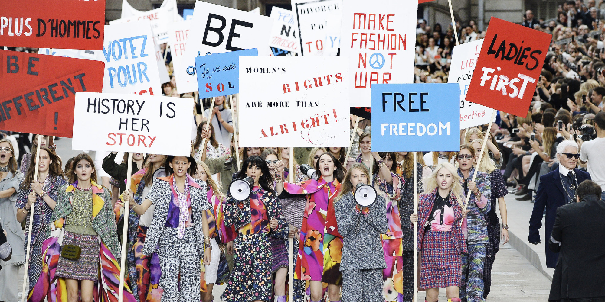 Why Chanel's Feminist Protest Is Great News For Gender ...