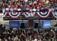 Obama Addresses Huge Outdoor Rallies In California