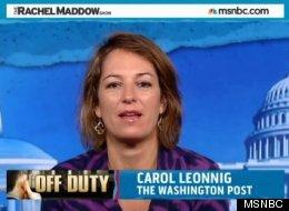 How The Washington Post's Carol Leonnig Broke Open The Secret Service Scandal