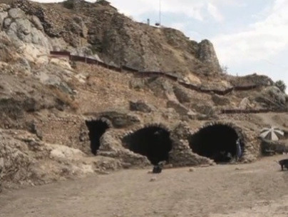 Dungeon discovered during excavation