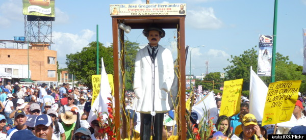 Venezuelans Seek Sainthood For Beloved Folk Hero