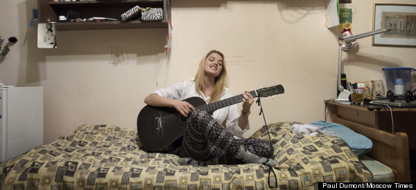 Intimate Portraits Capture Life Inside Russian Dorms