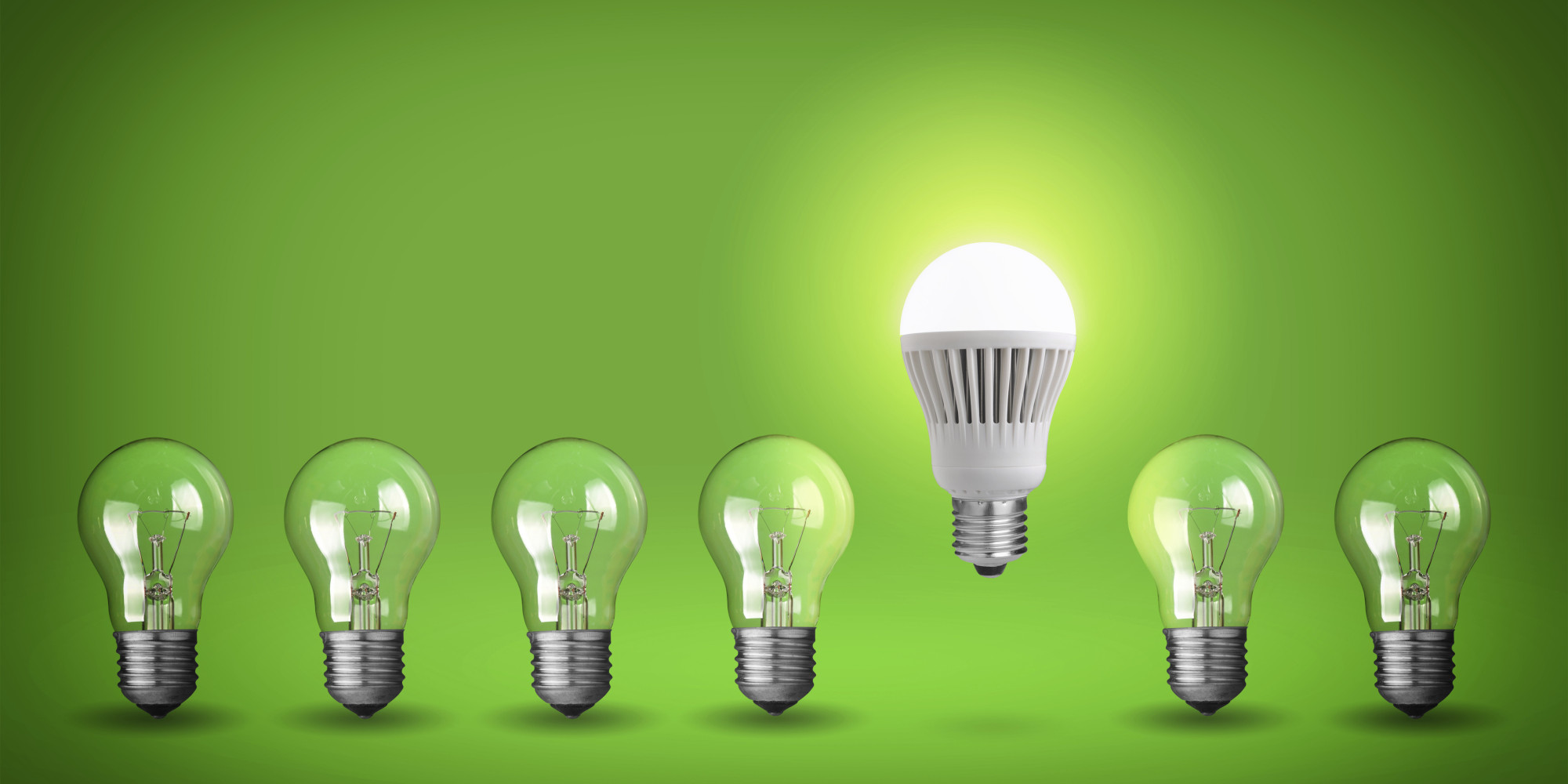 Use these green gadgets to help save water energy and money in your home huffpost Led bulbs